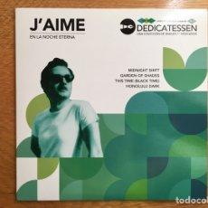 Discos de vinilo: J'AIME: EN LA NOCHE ETERNA. Lote 194178543