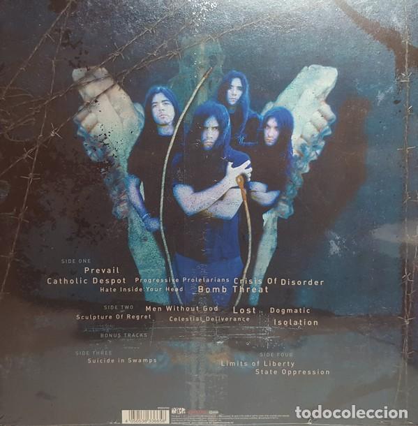 Discos de vinilo: Kreator - Cause For Conflict (2xLP, Album, RE, RM, Blue) - Foto 2 - 194183170