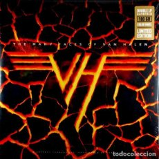 Discos de vinilo: THE MANY FACES OF VAN HALEN (2XLP, COMP, YELLOW) - VARIOUS. Lote 194185140