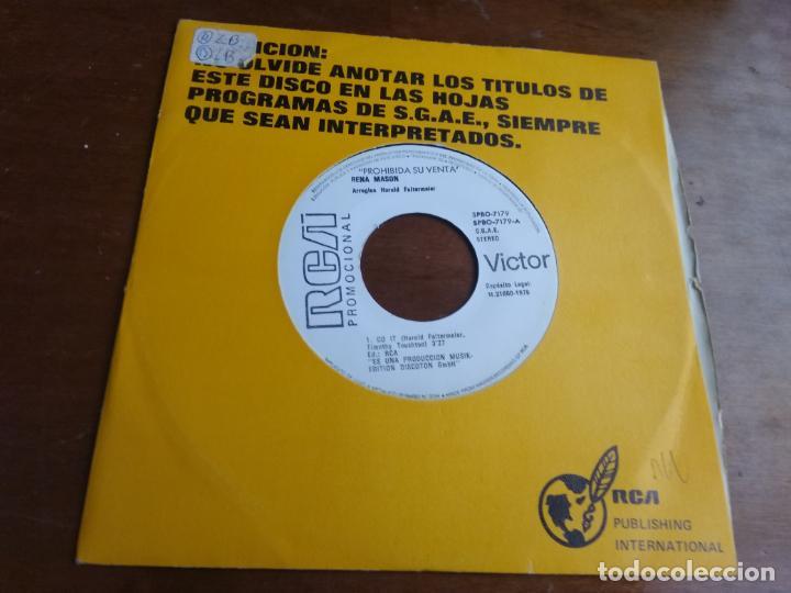 RENA MASON - DO IT / TELL HIM YOU LOVE HIM -PROMOCIONAL ESPAÑA SINGLE RCA 1979-MUY RARO!! (Música - Discos - Singles Vinilo - Funk, Soul y Black Music)