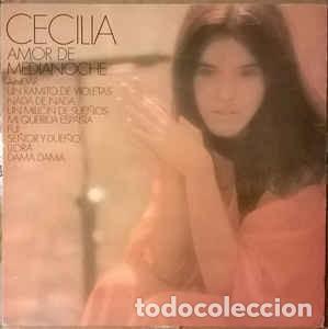 CECILIA - AMOR DE MEDIANOCHE - LP CBS 1982 REEDICION (Música - Discos - LP Vinilo - Solistas Españoles de los 70 a la actualidad)