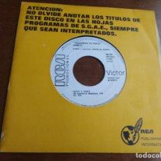 Discos de vinilo: JEANETTE - FRENTE A FRENTE / CUANDO ESTOY CON EL/ - SINGLE PROMOCIONAL RARO!!. Lote 194186068