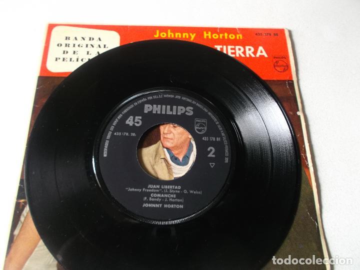 Discos de vinilo: JOHNNY HORTON-EP BSO ALASKA TIERRA DE ORO-4 TEMAS-1961 - Foto 3 - 194186921