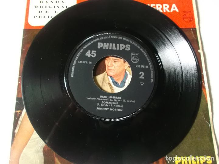 Discos de vinilo: JOHNNY HORTON-EP BSO ALASKA TIERRA DE ORO-4 TEMAS-1961 - Foto 4 - 194186921