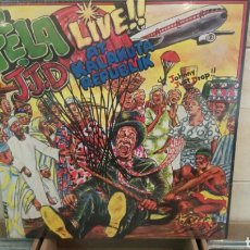 Discos de vinilo: FẸLA KUTI – J.J.D (JOHNNY JUST DROP!!) - LIVE!! AT KALAKUTTA REPUBLIK. LP VINILO PRECINTADO. Lote 194187167