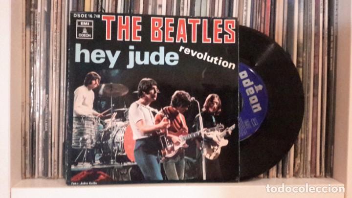 BEATLES - HEY JUDE (Música - Discos de Vinilo - EPs - Pop - Rock Extranjero de los 50 y 60)