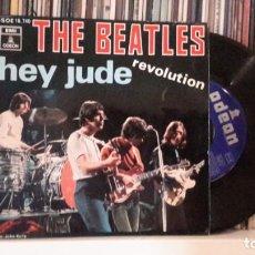 Discos de vinilo: BEATLES - HEY JUDE. Lote 194187706