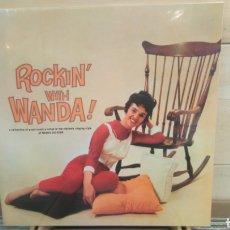 Discos de vinilo: WANDA JACKSON–ROCKIN' WITH WANDA . LP VINILO PRECINTADO. ROCKABILLY. Lote 194188318