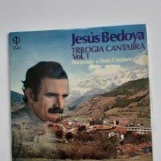 Discos de vinilo: VINILO FOLKLORE CANTABRIA.. Lote 194188496