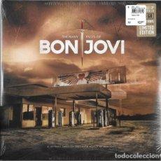 Discos de vinilo: THE MANY FACES OF BON JOVI (2XLP, COMP, LTD, COL) - VARIOUS -. Lote 194189582