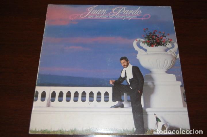 JUAN PARDO -UN SORBITO DE CHAMPAGNE- (Música - Discos - LP Vinilo - Flamenco, Canción española y Cuplé)