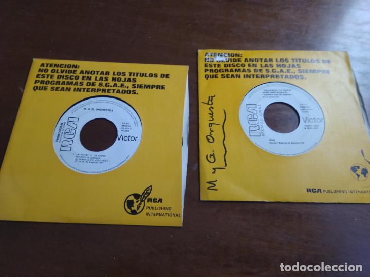 LOTE DOS SINGLES-OLIVER ONIONS / M & G ORCHESTRA* –ORZOWEI -M & G ORCHESTRA-BSO 40 DIAS DE LIBERTAD (Música - Discos - Singles Vinilo - Otros estilos)
