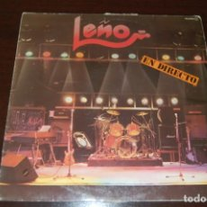 Discos de vinilo: LEÑO -EN DIRECTO-. Lote 194191445