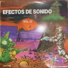 Discos de vinilo: BBC RADIOPHONIC WORKSHOP – EFECTOS DE SONIDO VOL.12. DISCO VINILO. ENTREGA 24H. Lote 194193717