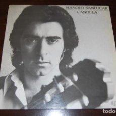 Discos de vinilo: MANOLO SANLÚCAR -CANDELA-. Lote 194193823