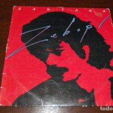 Discos de vinilo: SANTANA -ZEBOP- 1981. Lote 194194311