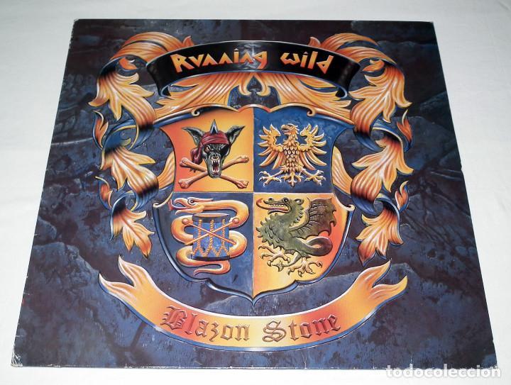 LP RUNNING WILD - BLAZON STONE (Música - Discos - LP Vinilo - Heavy - Metal)