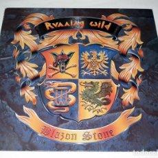 Discos de vinilo: LP RUNNING WILD - BLAZON STONE. Lote 194194633