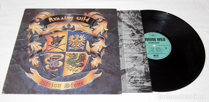 Discos de vinilo: LP RUNNING WILD - BLAZON STONE - Foto 3 - 194194633
