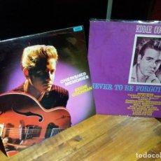 Discos de vinilo: EDDIE COCHRAN LOTE 2 DISCOS ORIGINALES. Lote 194197898