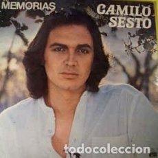 Discos de vinilo: CAMILO SESTO - MEMORIAS - LP SPAIN 1983, PORTADA DOBLE. Lote 194198037