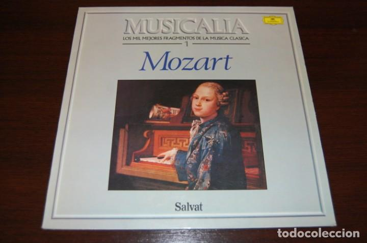 MOZAR (COLECCIÓN MUSICALIA DE SALVAT) Nº1 (Música - Discos - LP Vinilo - Clásica, Ópera, Zarzuela y Marchas)