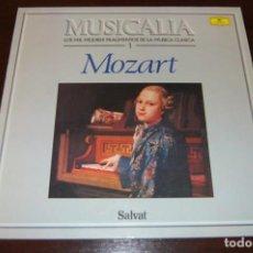 Discos de vinilo: MOZAR (COLECCIÓN MUSICALIA DE SALVAT) Nº1. Lote 194199722