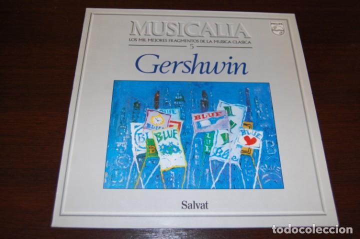 GERSHWIN (COLECCIÓN MUSICALIA DE SALVAT) Nº5 (Música - Discos - LP Vinilo - Clásica, Ópera, Zarzuela y Marchas)