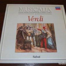 Discos de vinilo: VERDI (COLECCIÓN MUSICALIA DE SALVAT) Nº3. Lote 194200297