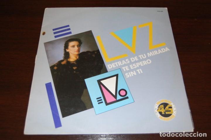 LUZ CASAL.....-DETRÁS DE TU MIRADA-TE ESPERO-SIN TI- (Música - Discos de Vinilo - Maxi Singles - Solistas Españoles de los 70 a la actualidad)