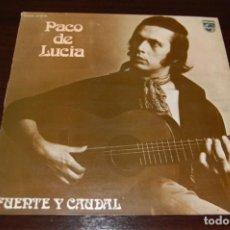Discos de vinilo: PACO DE LUCÍA -FUENTE Y CAUDAL- LP. Lote 194201258