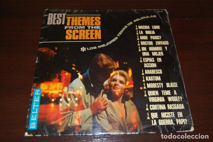 THE BEST THEMES FROM THE SCREEN (Música - Discos - LP Vinilo - Bandas Sonoras y Música de Actores )
