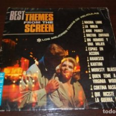 Discos de vinilo: THE BEST THEMES FROM THE SCREEN. Lote 194201477