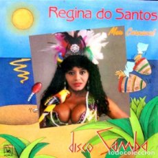 Discos de vinilo: REGINA DO SANTOS - MEU CARNAVAL - MAXI-SINGLE SPAIN 1988. Lote 194201812