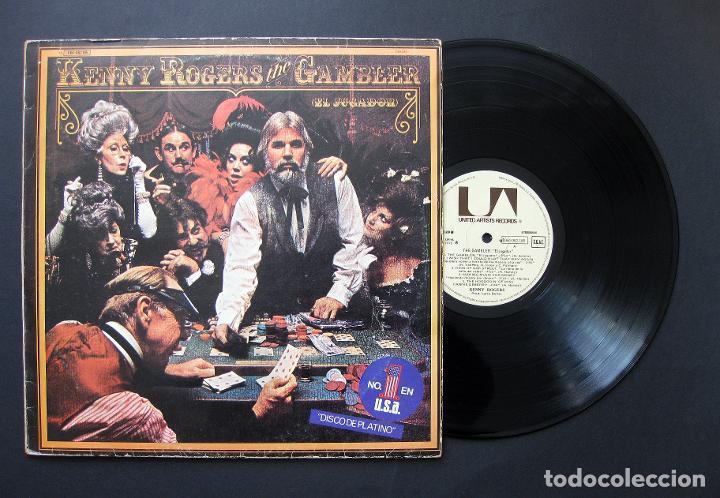 KENNY ROGERS – THE GAMBLER / EL JUGADOR - VINILO 1979 (Música - Discos - Singles Vinilo - Country y Folk)
