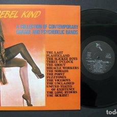Discos de vinilo: VARIOS – THE REBEL KIND (VINILO). Lote 194203625