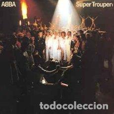 Discos de vinilo: ABBA - SUPER TROUPER - LP VOGUE FRANCE 1980 + ENCARTE. Lote 194205031