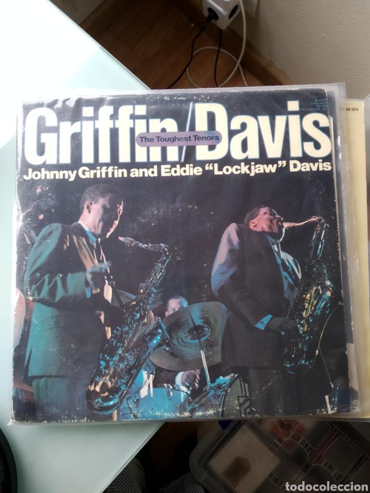 JOHNNY GRIFFIN / EDDIE LOCKJAW DAVIS – THE TOUGHEST TENORS (DOBLE LP) (Música - Discos - LP Vinilo - Jazz, Jazz-Rock, Blues y R&B)