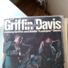 Discos de vinilo: JOHNNY GRIFFIN / EDDIE LOCKJAW DAVIS – THE TOUGHEST TENORS (DOBLE LP). Lote 194205423