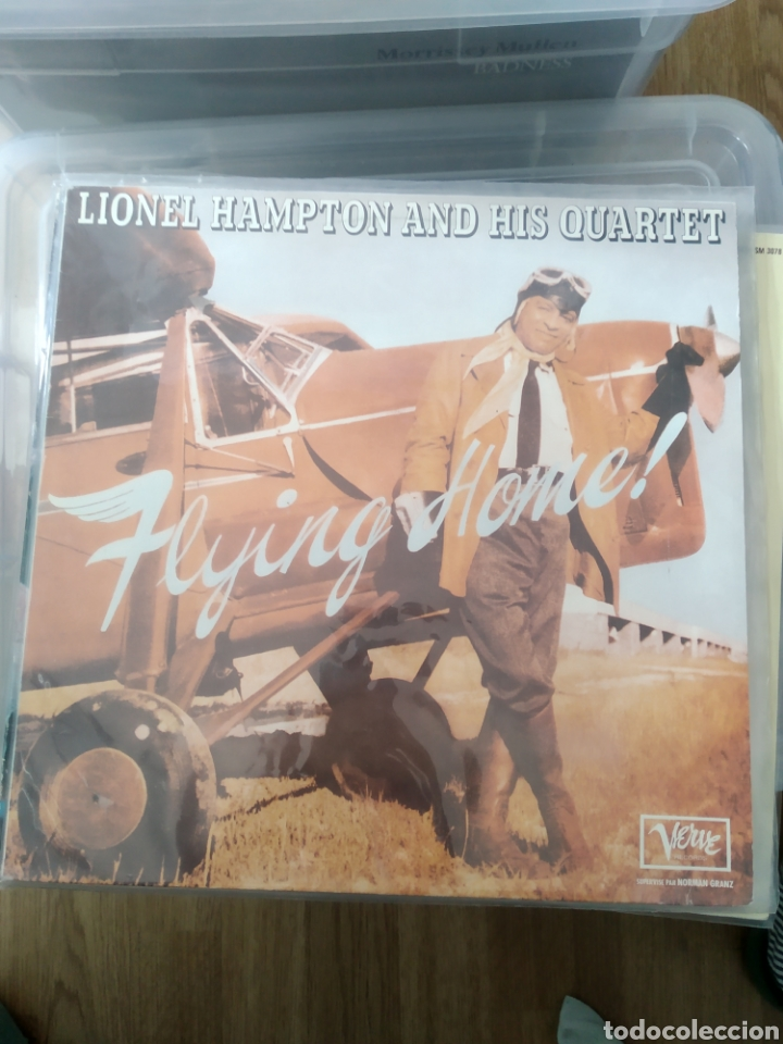 LIONEL HAMPTON AND HIS QUARTET – FLYING HOME! (Música - Discos - LP Vinilo - Jazz, Jazz-Rock, Blues y R&B)
