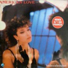 Discos de vinilo: ROSE LAURENS - AMERICAN LOVE (REMIX) MAXI-SINGLE KEY RECORDS SPAIN 1986. Lote 194205591
