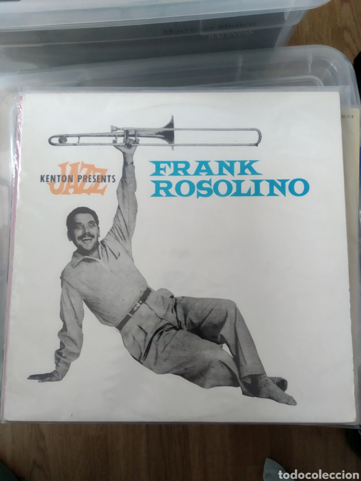 FRANK ROSOLINO – FRANK ROSOLINO (Música - Discos - LP Vinilo - Jazz, Jazz-Rock, Blues y R&B)