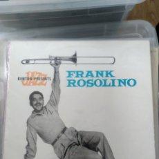 Discos de vinilo: FRANK ROSOLINO – FRANK ROSOLINO. Lote 194205647