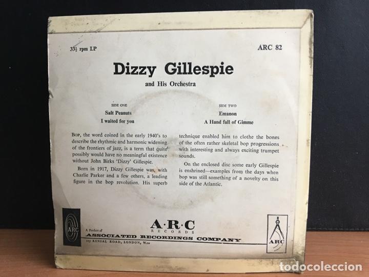 Discos de vinilo: Dizzy Gillespie And His Orchestra - Salt Peanuts / I Waited For You / Emanon (EP) - Foto 2 - 194208378