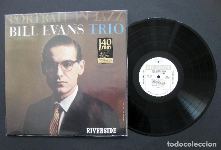 BILL EVANS TRIO – PORTRAIT IN JAZZ - VINILO 140 G USA (Música - Discos de Vinilo - EPs - Jazz, Jazz-Rock, Blues y R&B)