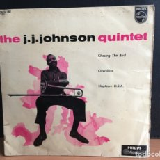 Discos de vinilo: J.J. JOHNSON QUINTET - CHASING THE BIRD (EP) (ED HOLANDESA). Lote 194209166