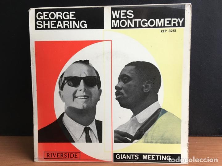 GEORGE SHEARING Y LOS HERMANOS MONTGOMERY (EP, MONO) (Música - Discos de Vinilo - EPs - Jazz, Jazz-Rock, Blues y R&B)