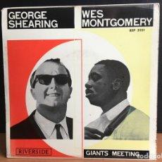 Discos de vinilo: GEORGE SHEARING Y LOS HERMANOS MONTGOMERY (EP, MONO). Lote 194209205