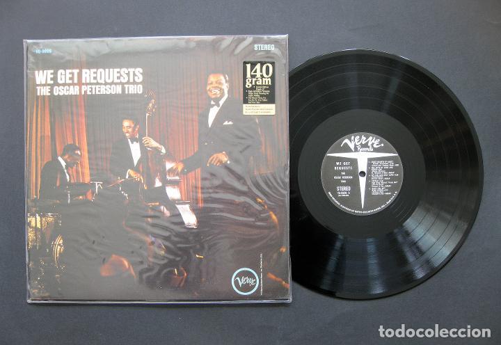 THE OSCAR PETERSON TRIO – WE GET REQUESTS - VINILO 140 G USA (Música - Discos de Vinilo - EPs - Jazz, Jazz-Rock, Blues y R&B)
