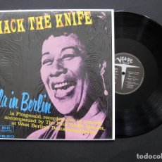 Discos de vinilo: ELLA FITZGERALD ‎– MACK THE KNIFE/ELLA IN BERLIN - VINILO. Lote 194210577